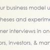 Wetenschappelijk verantwoord je businessmodel ontwerpen
